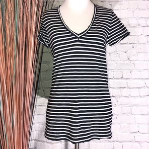J.Crew Vintage Cotton Striped Top Lots of 2